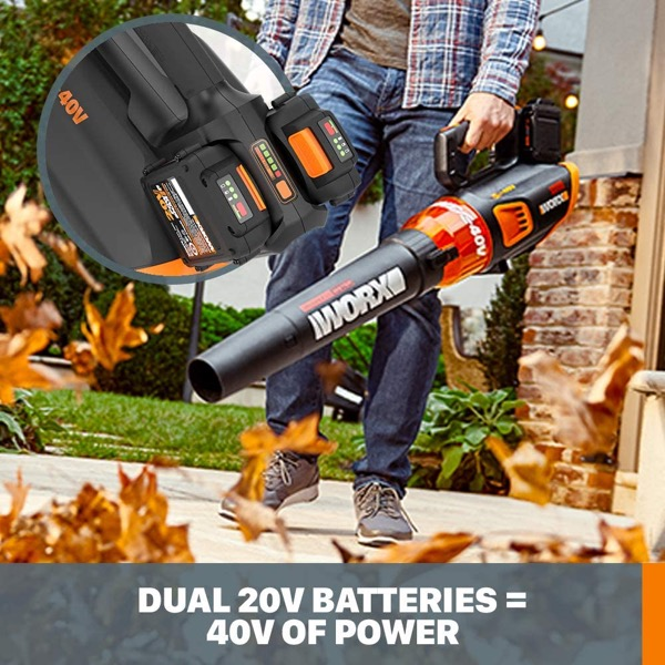 40V cordless leaf blower reviews - opening image of review category technology